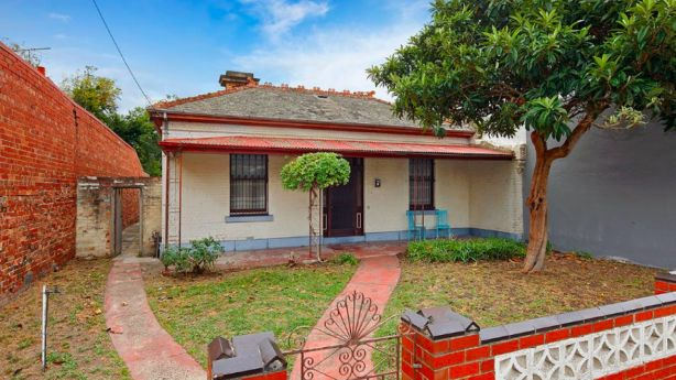 The top sale price of the weekend - $3.84 million - was paid for this house on a large block in North Fitzroy.