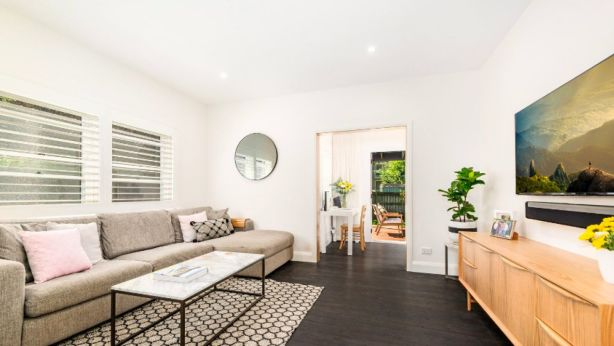 This Cammeray duplex went for almost $1.3 million