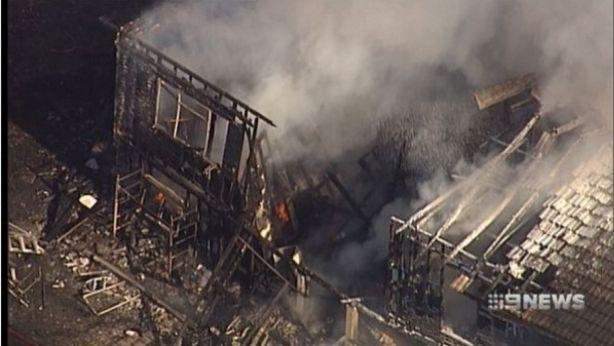 The house fire made news headlines in Brisbane back in November. Photo: 9NEWS