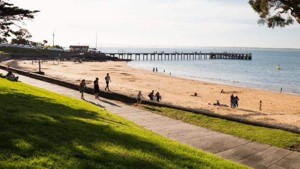 Cowes is the main township on Phillip Island, one of the better-known pockets of the Bass Coast. Photo: Robert Blackburn / Visions Victoria