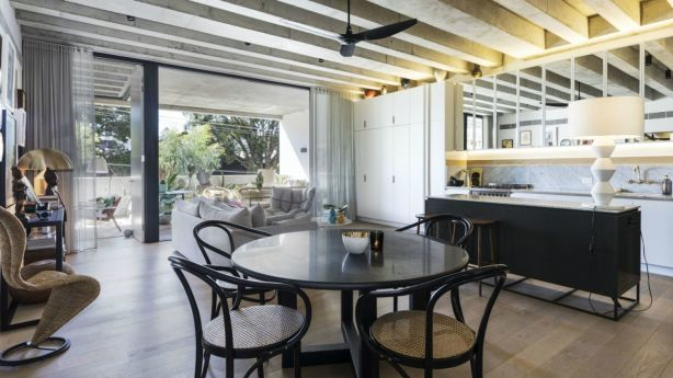 The stylish property has three bedrooms, two bathrooms and a stylish open plan living space. Photo: Supplied.