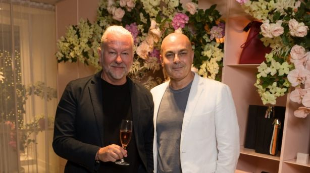 David Novak-Piper and Neale Whitaker have decided to sell as they plan to relocate to the South Coast. Photo: Christopher Quyen