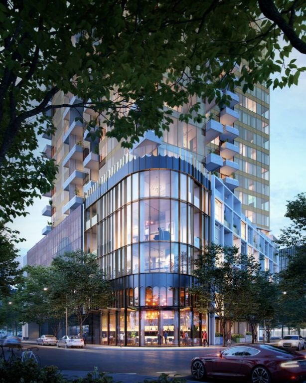 Escala will be located on Docklands Drive. Photo: Six Degrees Architects