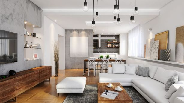 Open-plan living is great, but make sure you define your areas clearly. Photo: iStock