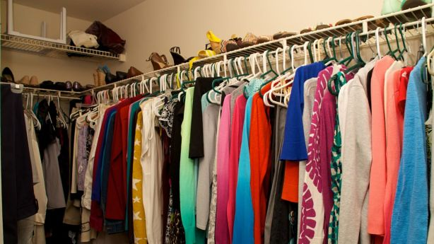 When it comes to clothing, 80 per cent should be functional, and 20 per cent favourites, according to Ms Harnan. Photo: iStock
