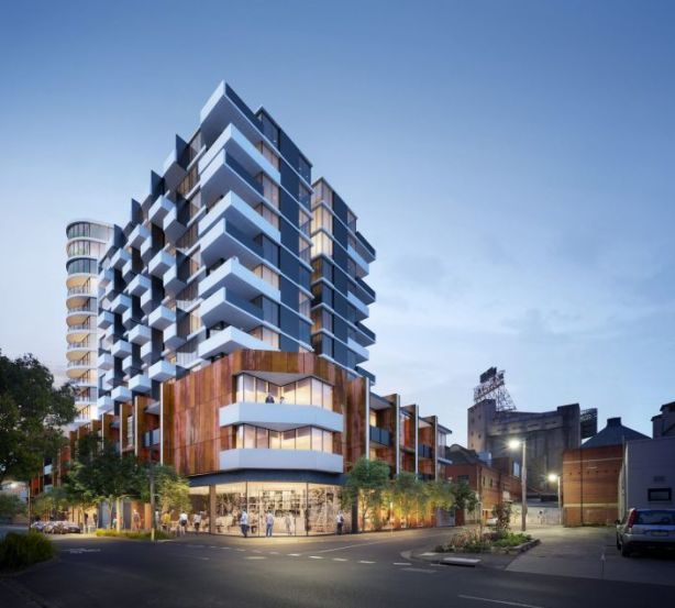 The project blends contemporary design with the site's historical aesthetic. Photo: Artist's impression