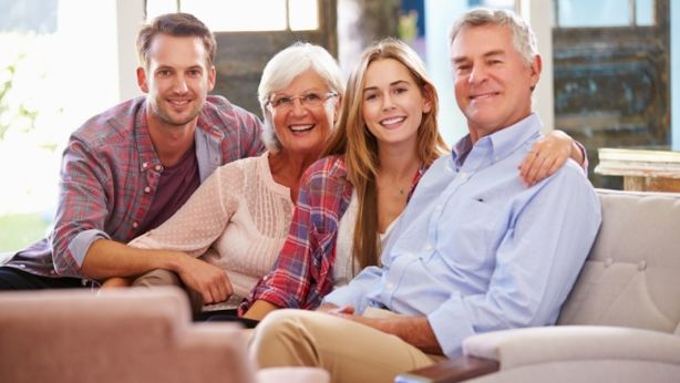 After all, around half the world lives with their parents. Photo: Istock