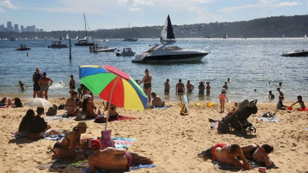 While residents in Sydney's east are able to cool off in the harbour or beaches, experts say there is a lack of cool environments further west. Photo: James Alcock /Fairfax Media