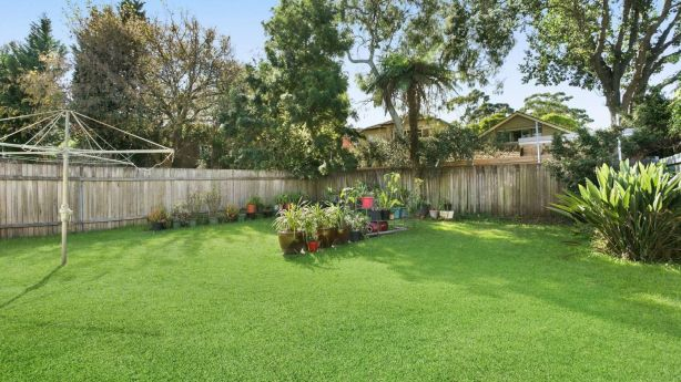 A large north-facing backyard attracted plenty of bidders to the original condition Mosman home.