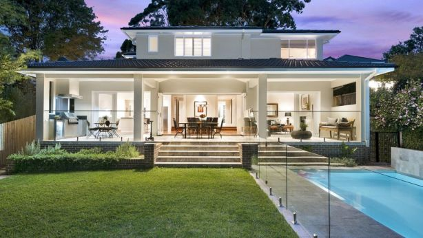 Marketed as an entertainer's delight, this Turramurra home sold for $4.35 million.