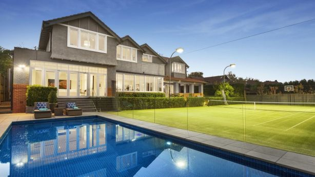 The large property featured a tennis court and swimming pool. Photo: Supplied
