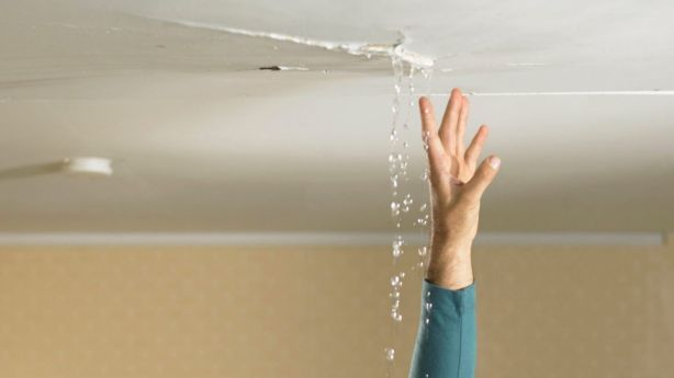 A serious roof leak is considered an urgent repair.