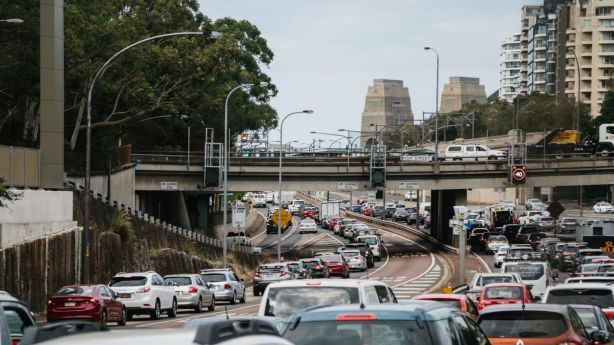 Sydneysiders like to tell themselves the commute is 'not that bad'. Photo: Roger Stonehouse