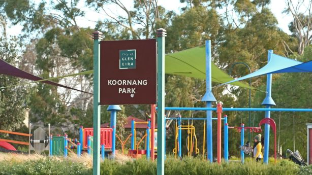 Koornang Park is popular with families with young children and provides a large green space. Photo: Scott Barbour