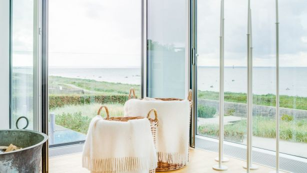 The Danish coast is even visible in the distance. Photo: Sweden Sothebys International Realty