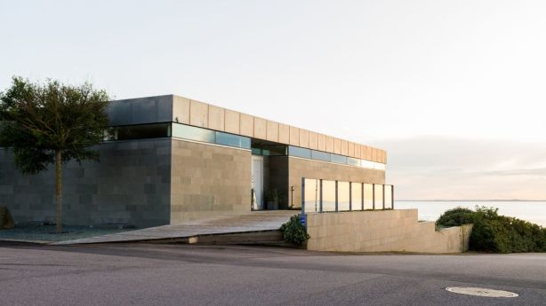 This 10-bedroom home in southern Sweden would fit perfectly in a Nordic noir series. Photo: Sweden Sothebys International Realty