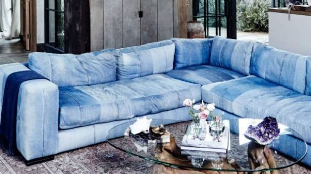 Lou Barker said, just like jeans, denim never rally goes out of fashion. Photo: JENNA PEFFLEY/DESIGN ADDICTS