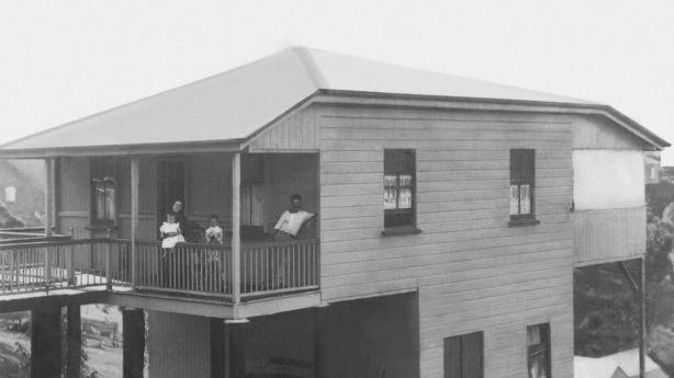 Peter Ozanne built the Paddington Queenslander cottage in 1912.