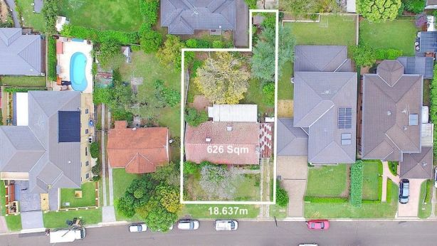 While properties in the City of Ryde currently need to have a 20 metre street frontage, under the new rules properties with as little as 12 metres could be given the green light. Photo: Supplied