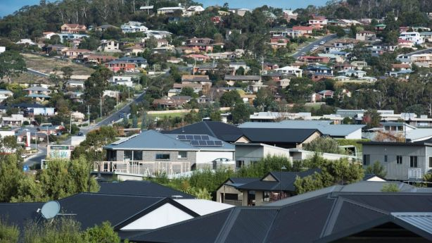 There is a critical shortage of houses up for sale and rent in Hobart. Photo: Sarah Rhodes