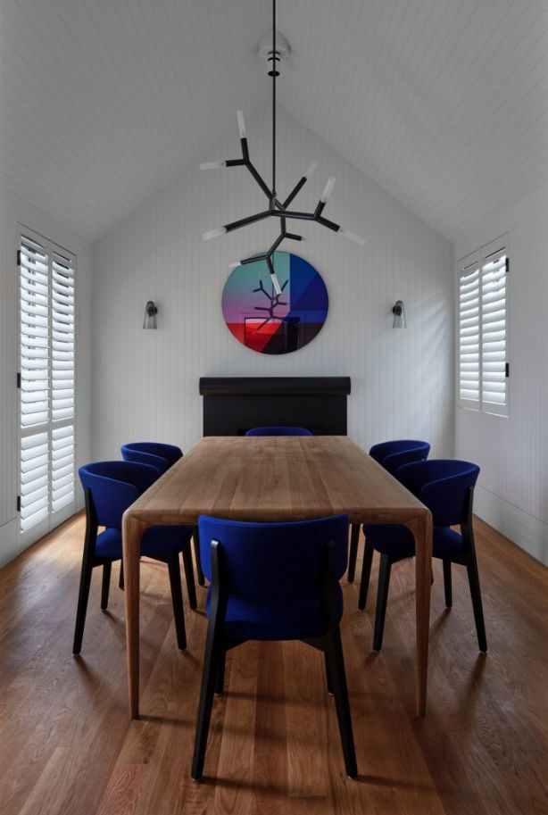 Inside the shortlisted James Street, Richmond, house. Photo: Peter Clarke