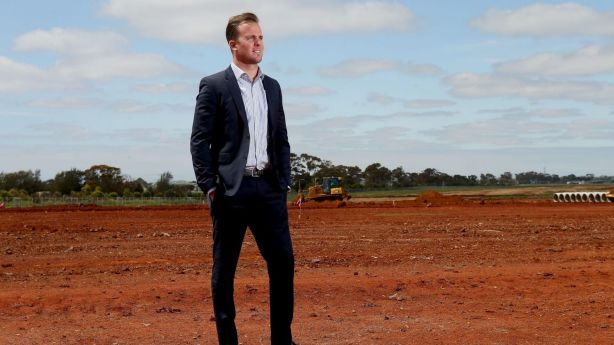MELBOURNE, AUSTRALIA - OCTOBER 24: Former Essendon footballer, property developer and BRW Young Rich List debutante Andrew Welsh poses for a photo at Thornhill Park on October 24, 2016 in Melbourne, Australia. (Photo by Pat Scala/Fairfax Media) Photo: Pat Scala