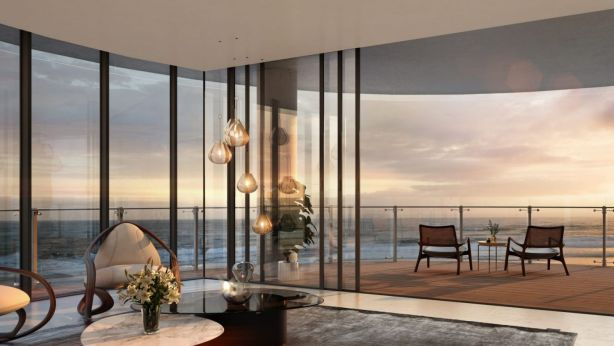 The apartments have been designed around the concept of luxury living. Photo: Artist Impression