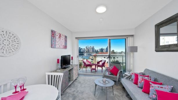 The price on this one-bedroom apartment in McMahons Point was dropped from $1.2 million to $1.05 million before it sold. Photo: Supplied