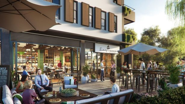 It will be a mixed-use development, featuring cafes, shops and bars. Photo: Supplied