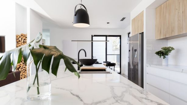 Drink red wine on the regular? You might want to think again about those marble bench tops. Photo: Jodie Johnson