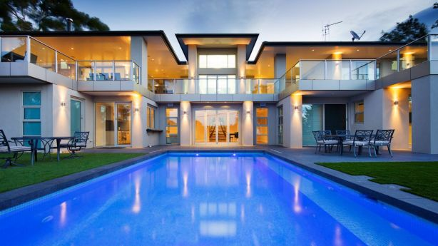 The home was designed by Architects Ring & Associates and built by CHASE Building Group about seven years ago. Photo: Architects Ring & Associates