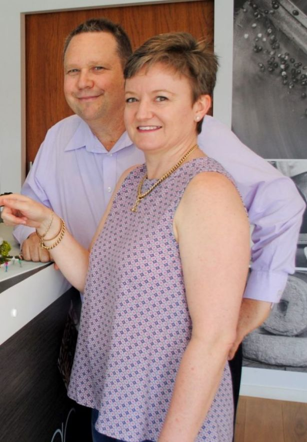 Paul and Jeanette Hoepper have purchased a four-bedroom apartment at Maasra Coorparoo. Photo: Supplied
