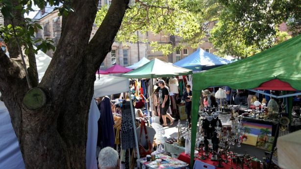 Rozelle Public School holds Saturday markets in their grounds as a source of extra funds. Photo: Janie Barrett