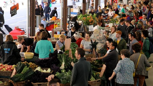 Farmers Market at Carriageworks are worth the visit for the area's best produce. Photo: Janie Barrett