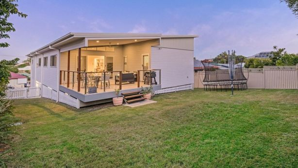 Protecting the backyard: 51 Allambie Street, Carina, has proven popular with buyers because it is zoned for single residential use.