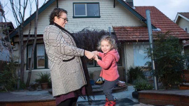 The quality of childcare centre was more important than cost and location for Tarryn Holland and her family. Photo: Stephen McKenzie
