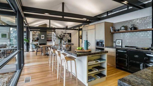Moorabinda, at 127 Olinda-Monbulk Road, Olinda, designed by Robin Boyd. Photo: Bell Real Estate