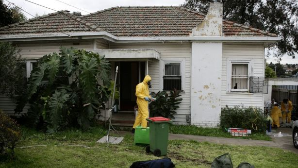 Properties used to manufacture drugs can pose a health risk unless treated. Photo: John Woudstra