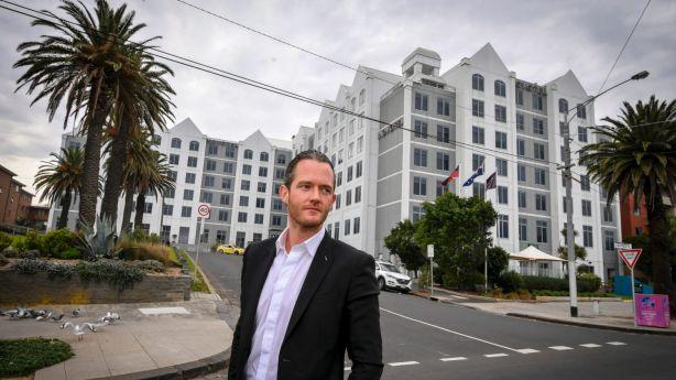 Tim Gurner will redevelop the St Kilda site currently occupied by the Novotel. Photo: Eddie Jim