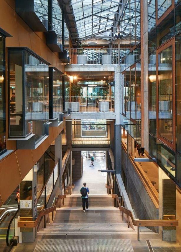 RMIT's New Academic Street won a plethora of prizes. Photo: Peter Bennetts