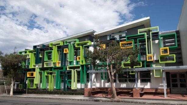 Trinity Grammar's new business centre by McIntyre Partnership Architects Photo: Bart Borghesi