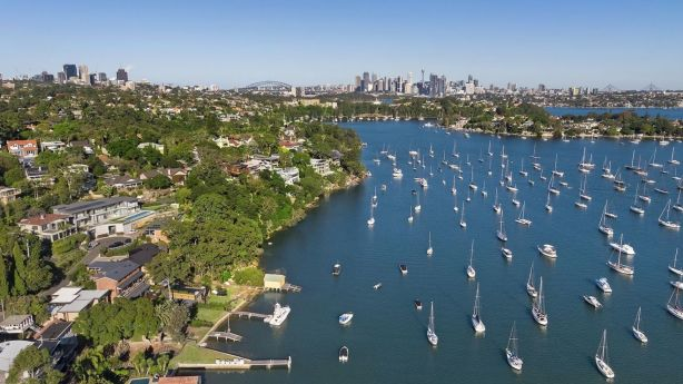 Sydney's waterfronts were proving attractive to buyers at the top end of the market.
