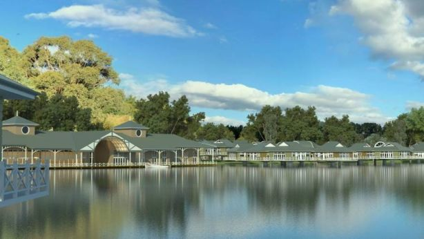 The application sets out plans to construct 100 bush, lakeside and over-water units. Photo: Supplied