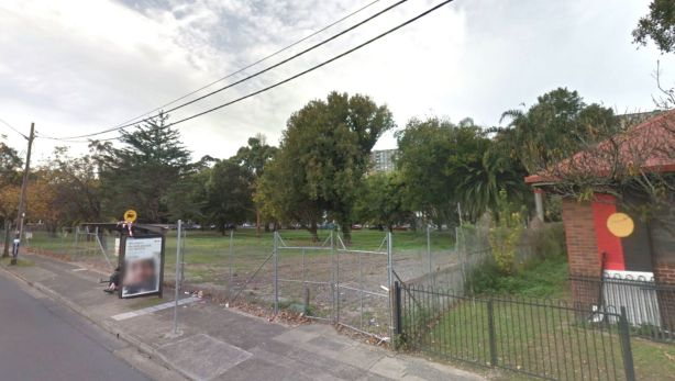 The Redfern site has been vacant for many years, but is partially occupied by South Sydney PCYC. Photo: Google