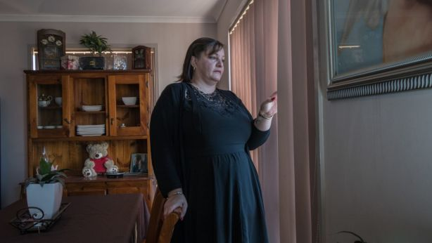 Kylie Batt rents a home in Gordon and says she is not surprised Canberra has the highest weekly asking house rents in the nation. Photo: Karleen Minney