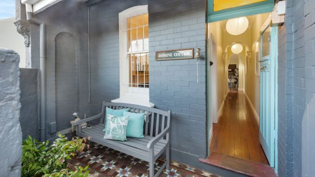 The facade sets the tone for the rest of the property. Image: 29 Collins Street, Annandale. Photo: Supplied