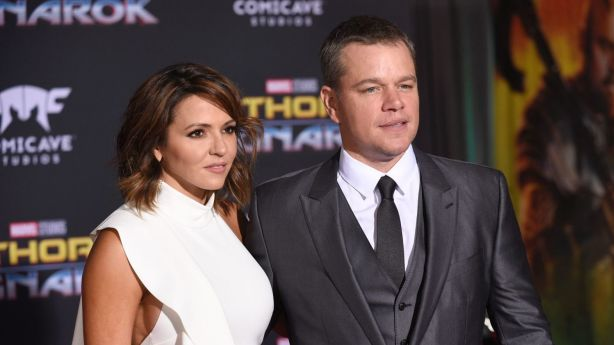 Matt Damon and his wife Luciana Barroso are set to pack up their Byron Bay holiday home. Photo: AP