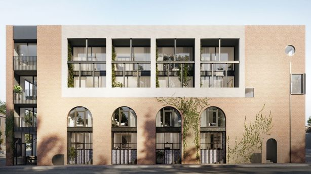 Developers have collaborated with local artisans over Lothian Street. Photo: Artist's impression