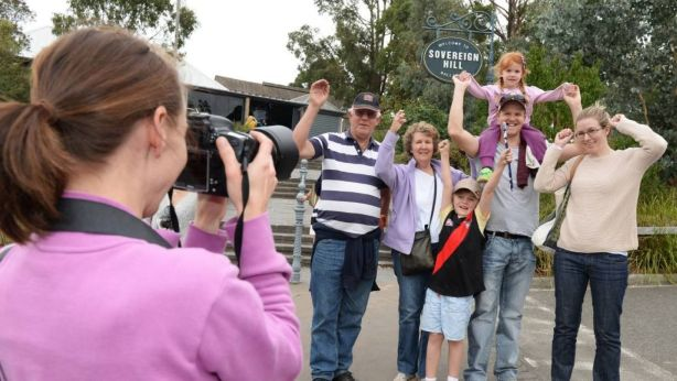 A new study has found having family and friends visit has positive health benefits for most people, but in some cases it can add stress to our lives. Photo: The Courier, Ballarat