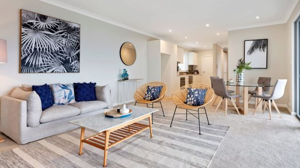 The two-bedroom spread was near new when it last traded three years ago for $1.1 million. Photo: Domain.com.au